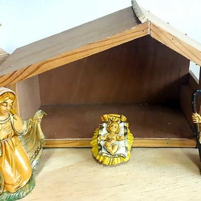 bouwpakket mini-kerststal