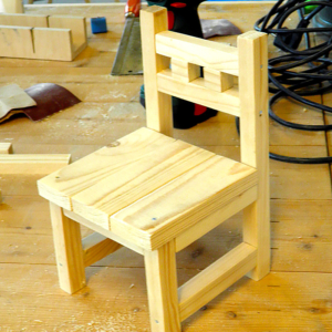 timmercursus stoel maken