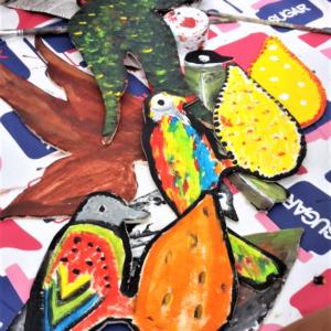 workshop figuurzagen beschilderen
